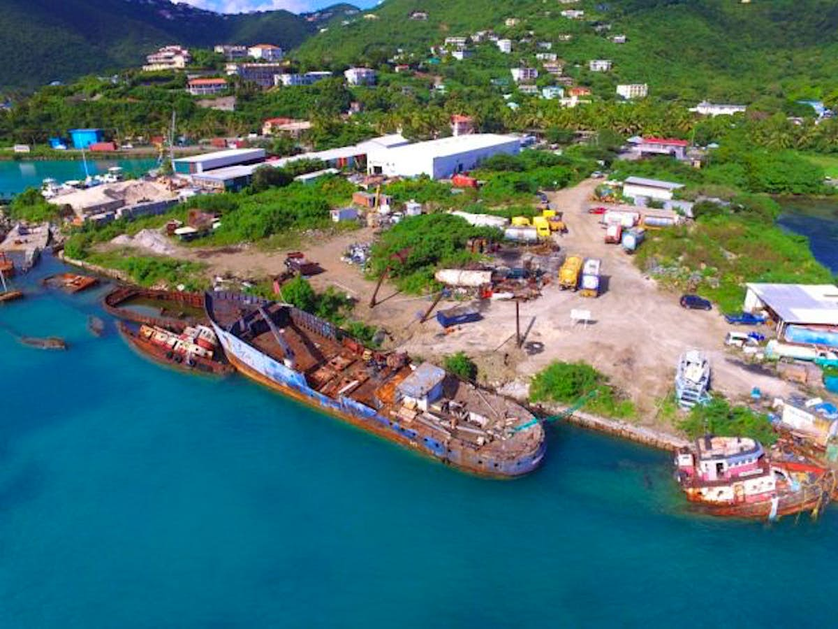 The British Virgin Islands is about to sink a Pearl Harbor ...