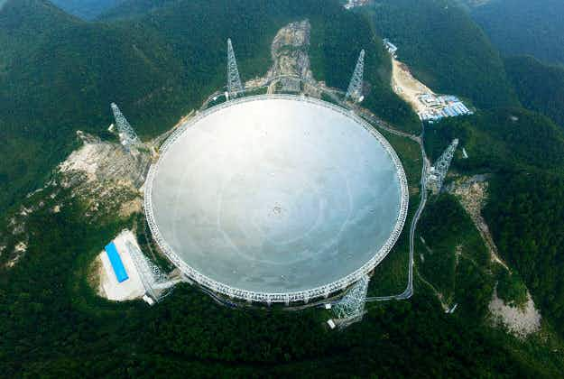 The world's largest alien-finding telescope is now open to visitors in China