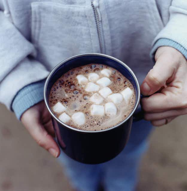 Down over 12,000 gallons of hot chocolate on the sweet 15K run in California this weekend