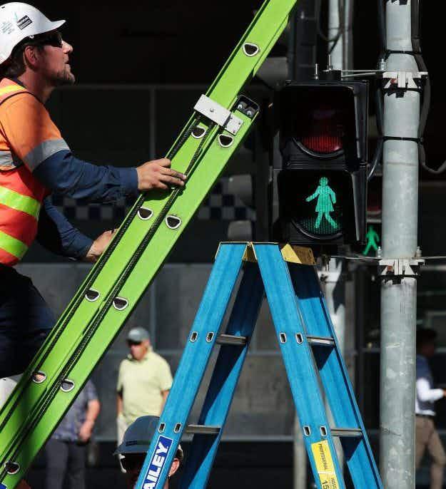 The installation of female pedestrian signals in Melbourne has ignited debate in Australia