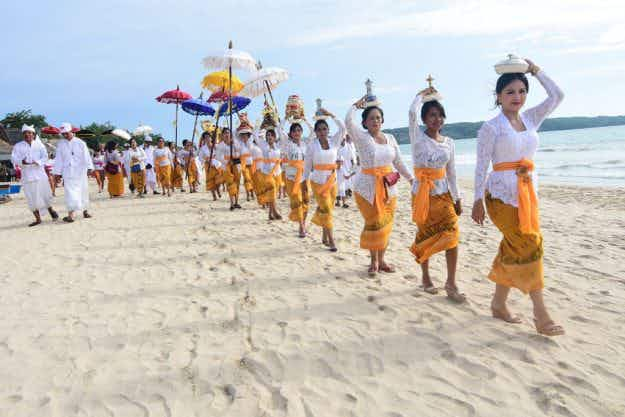 As Bali falls silent for Nyepi, here's everything you need to know about the Hindu celebration
