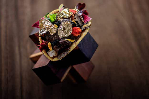 A resort in Mexico is selling a $25K taco that features Kobe beef, caviar and gold leaf