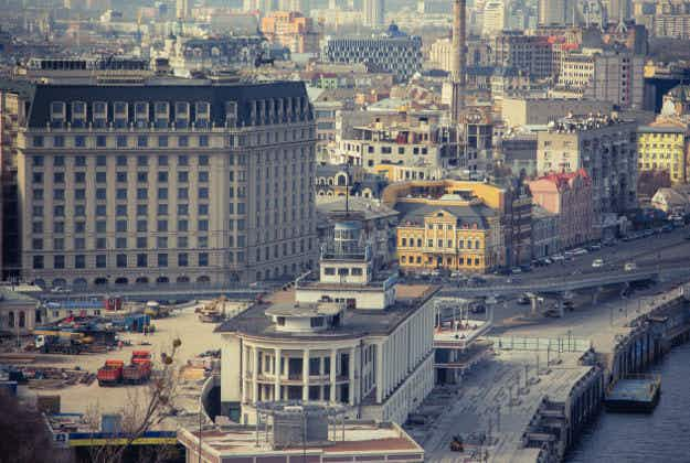 Kyiv's first 'social restaurant' is helping to fund the city's urban projects