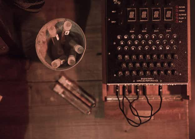 Code-break for cocktails at a London bar inspired by Alan Turing and Sherlock Holmes