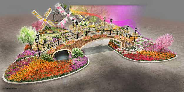 Philadelphia is in full bloom with the biggest flower show in the US
