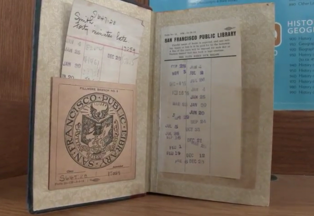 An amnesty at San Francisco Public Library saw a bumper return, including a book that was 100 years overdue