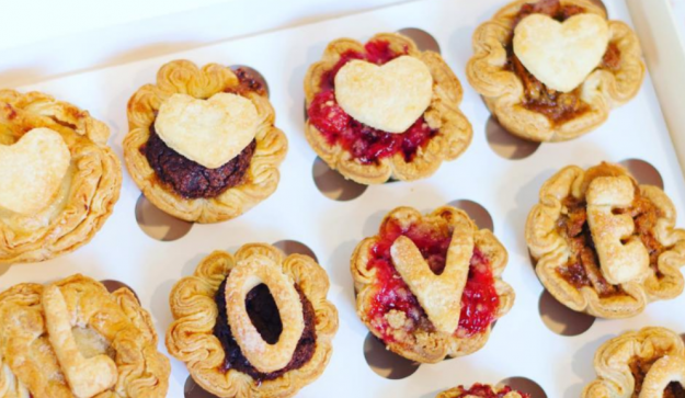 This Austin bakery makes adorable tiny pies that are the size of cupcakes