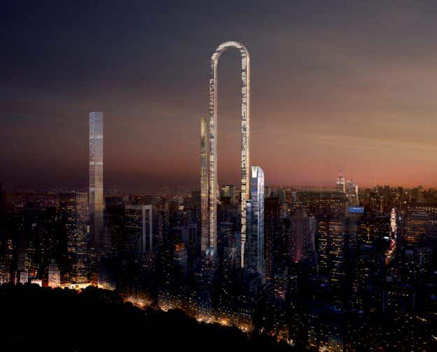 See how this incredible U-shaped skyscraper could dominate the NYC skyline