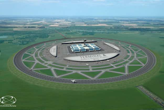 Could circular runways be the future for air travel? This Dutch engineer thinks so