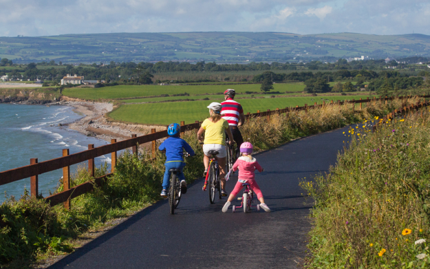 Ireland's longest off-road walking and cycling route the Waterford Greenway opens