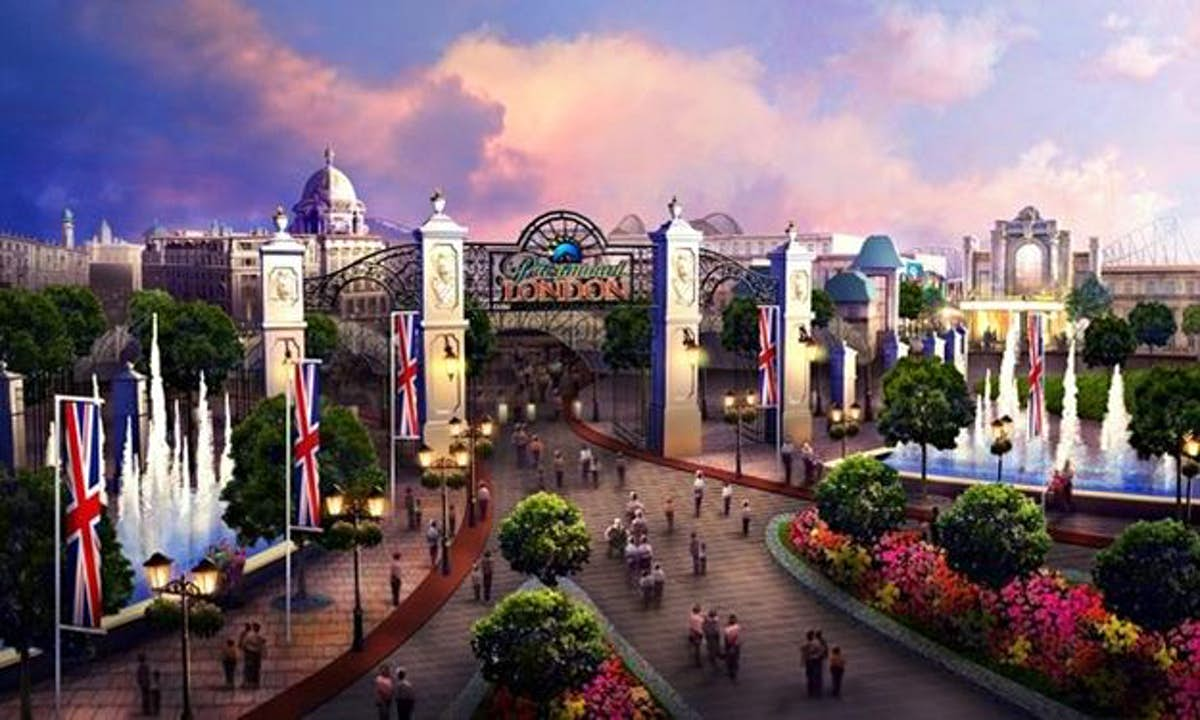 """Get a sneak peek at what the magical new £3.5 billion theme park dubbed the """"UK Disneyland"""" will look like"""