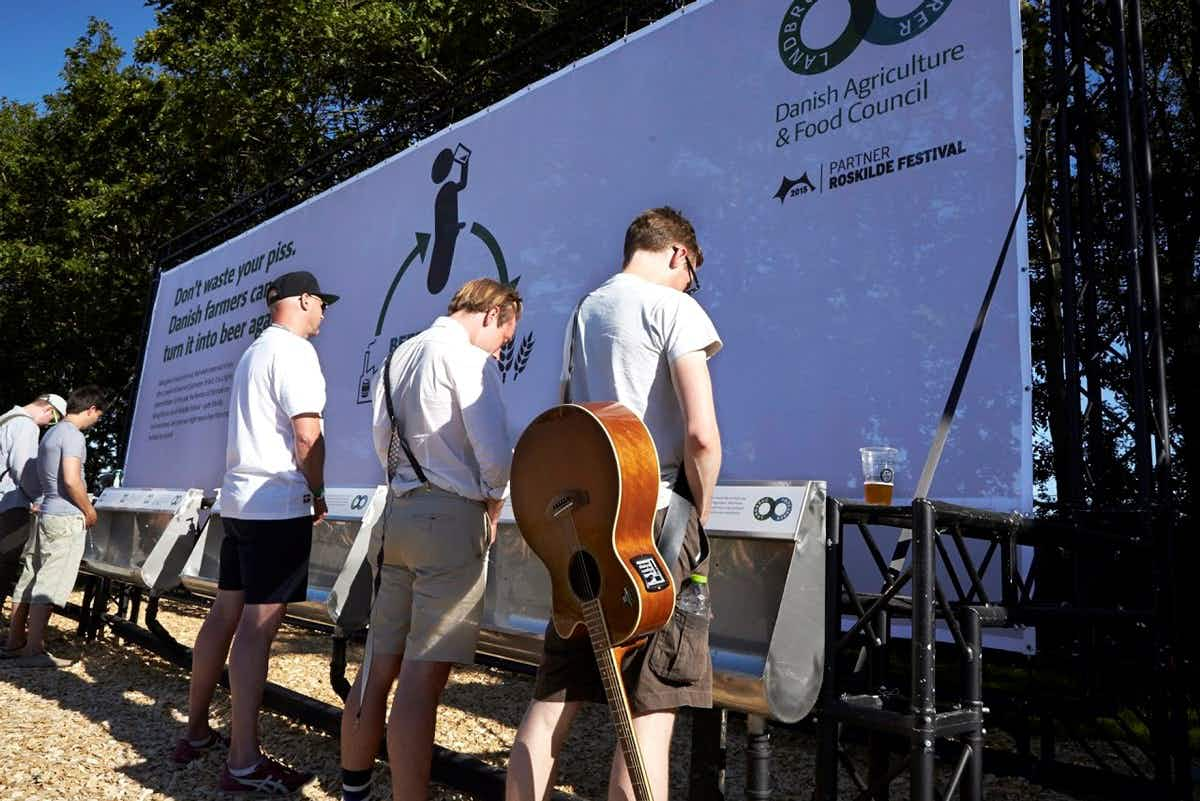 """""""Beercycling"""" turns urine from Denmark's Roskilde Festival back into brews"""