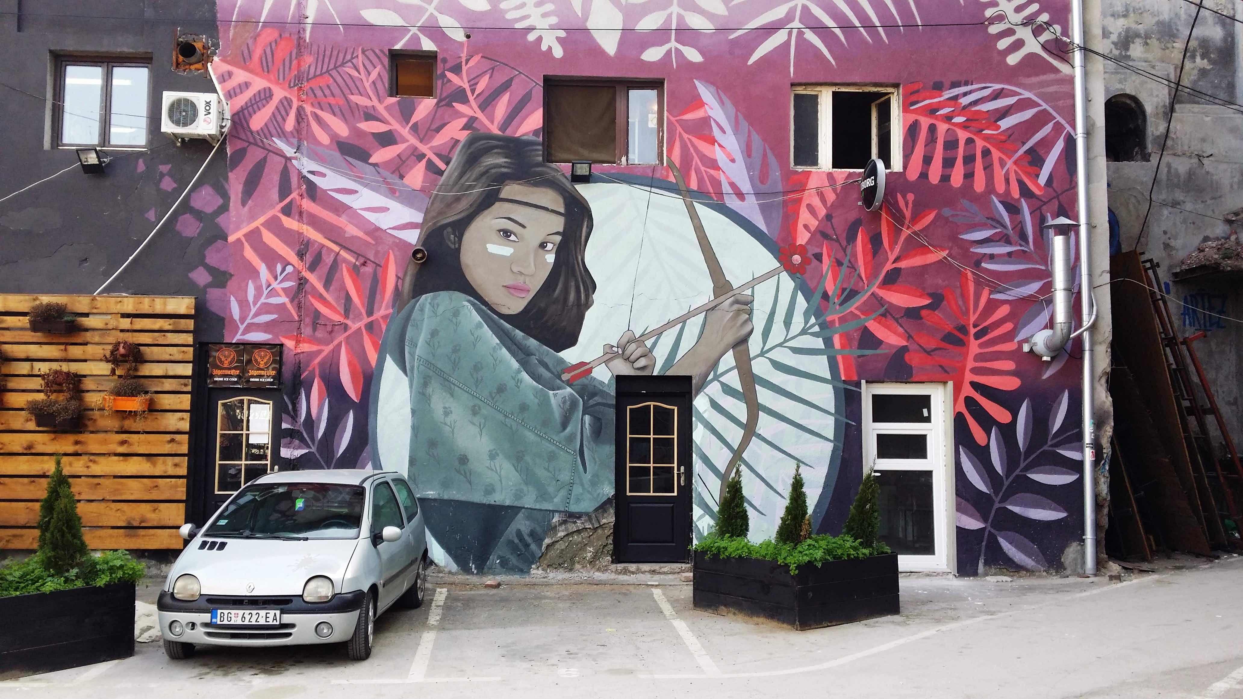 Explore the artistic side of Belgrade as Serbian artists launch street art tours