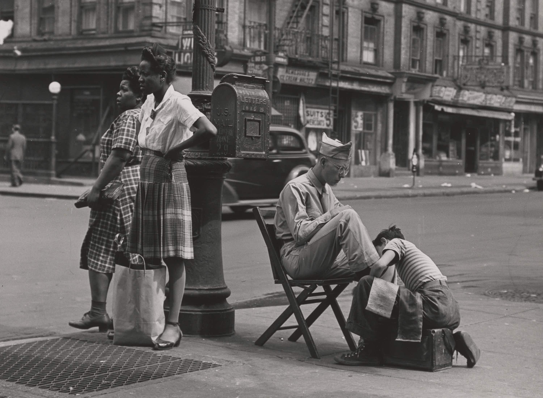See 1940s postwar New York through the eyes of photographer Todd Webb