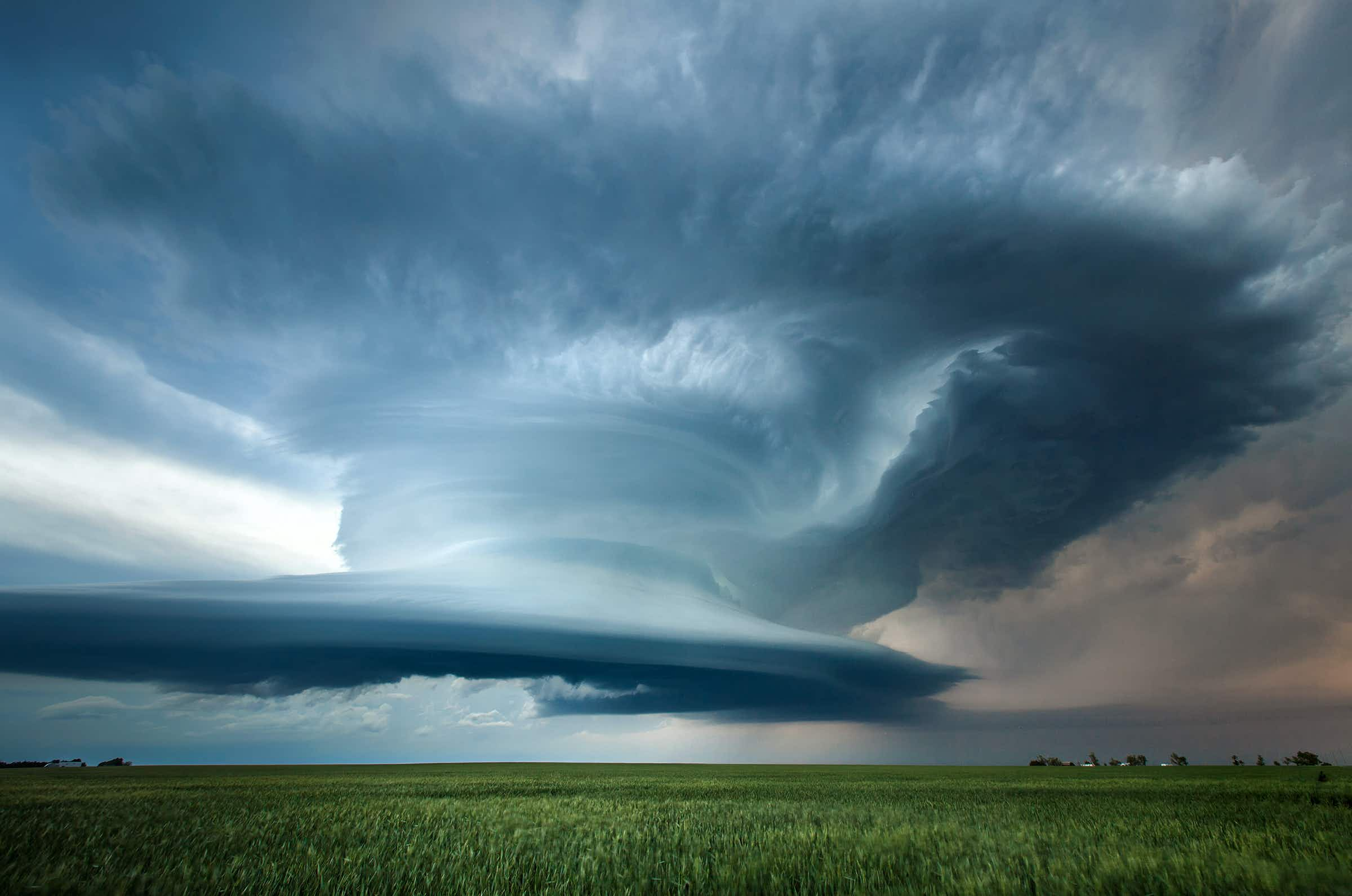 See the stunning extreme weather images captured in America's Tornado Alley
