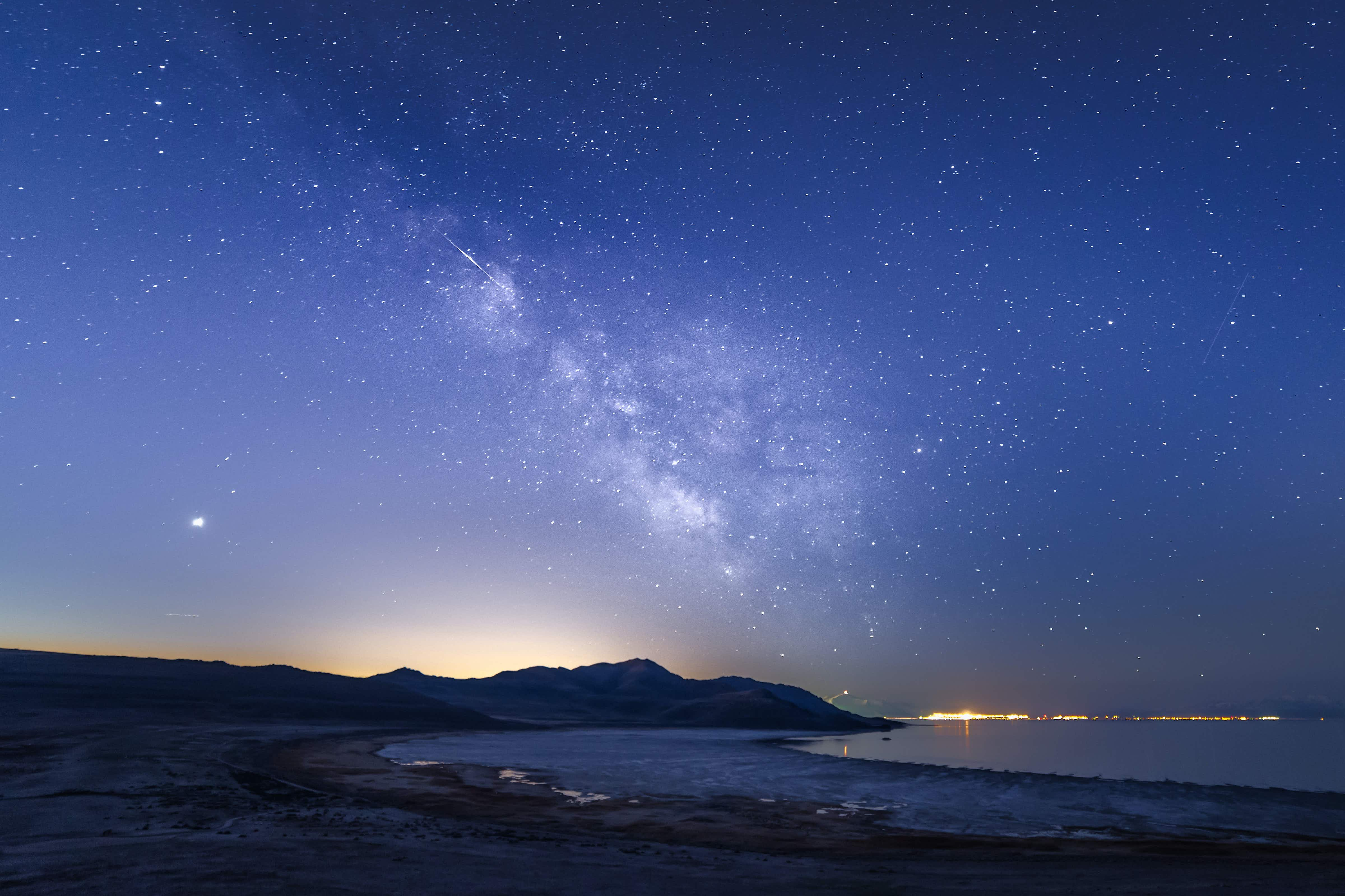 Antelope Island State Park in Utah is the latest International Dark Sky Park
