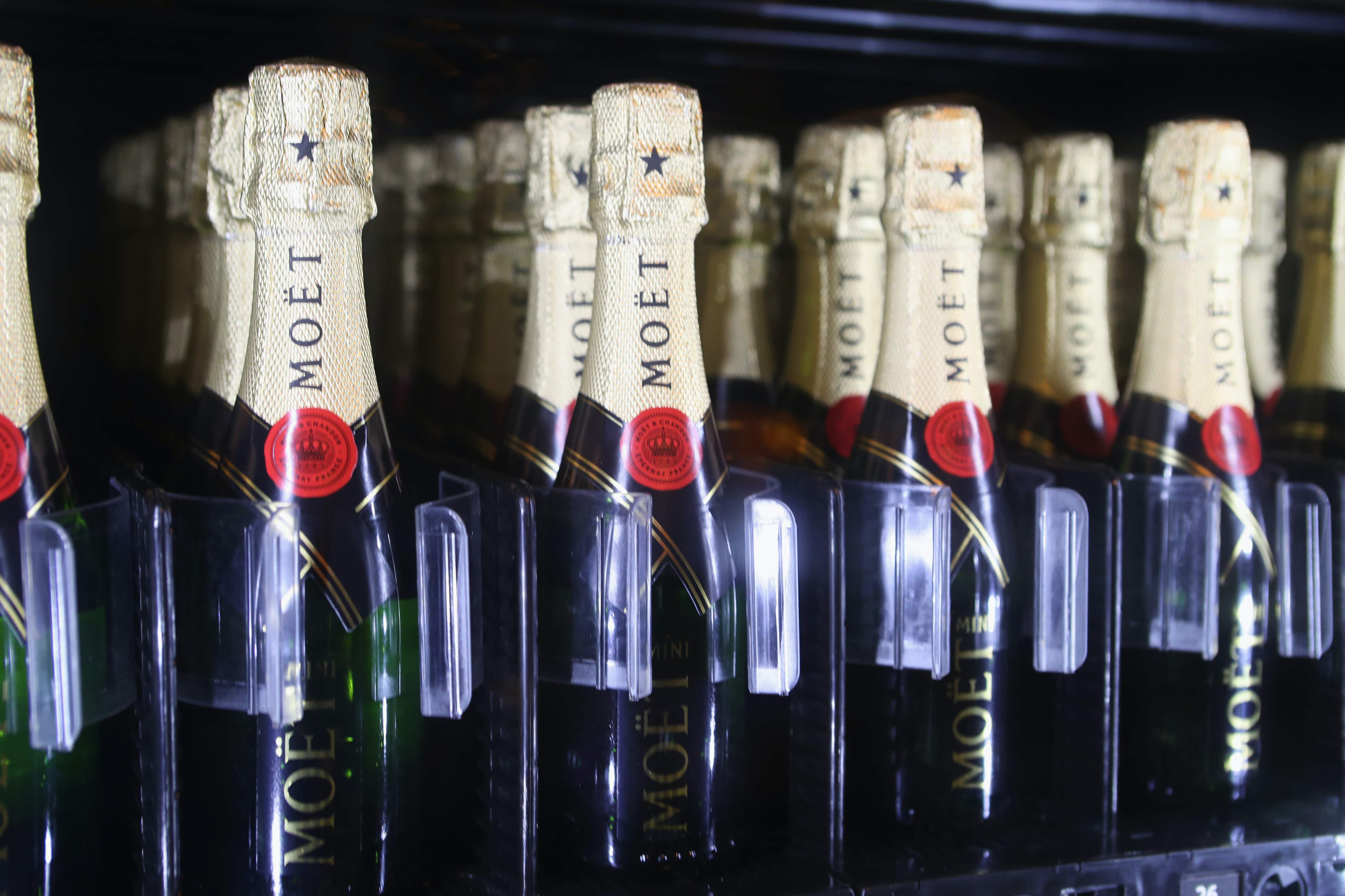 Time to celebrate in the Big Easy as New Orleans gets a Champagne vending machine