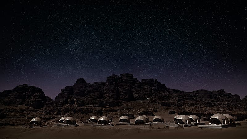 Have a Martian experience in Jordan this year.