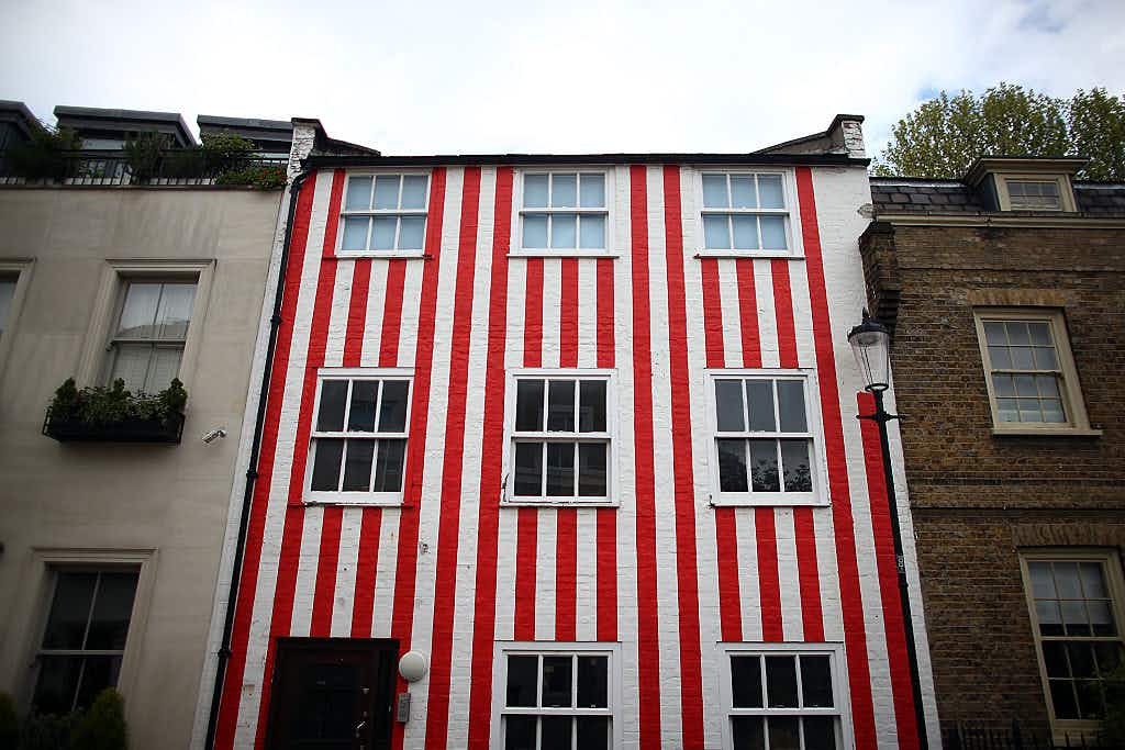 The controversial candy-striped townhouse in London's Kensington is here to stay