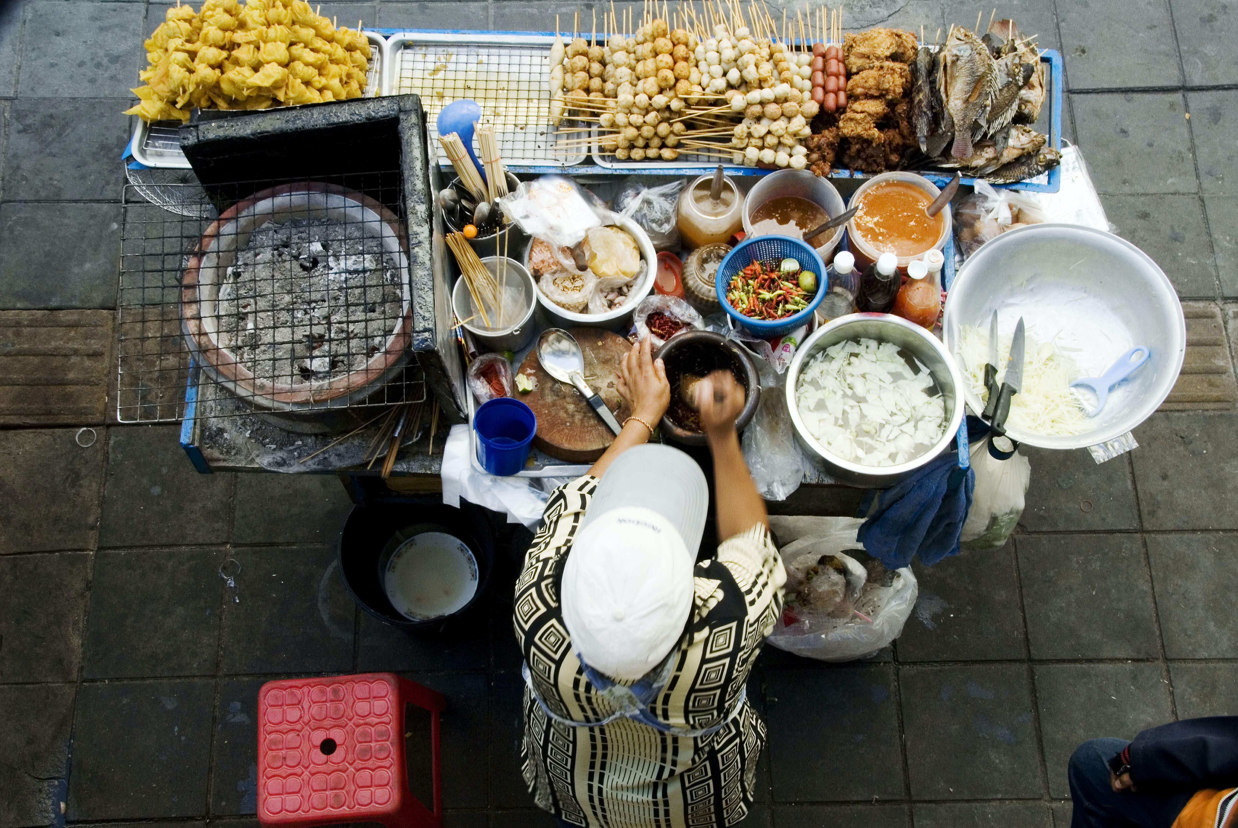 Street food vendors in Bangkok could be a thing of the past after this year
