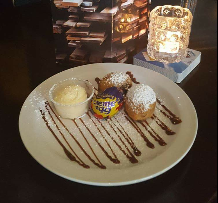 Getting ready for the Easter chocolate-fest? A Dublin pub is serving deep-fried Creme Eggs