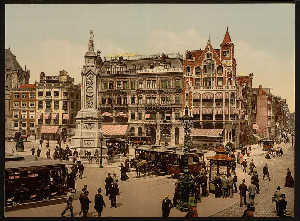 See 19th-century Netherlands in colour with these Photochrom postcards