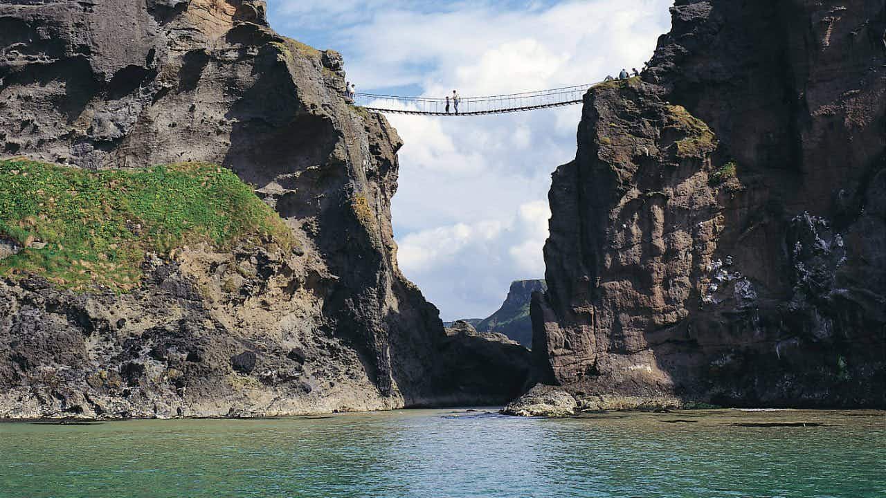 Antrim's famous Carrick-a-Rede rope bridge is now ticketed