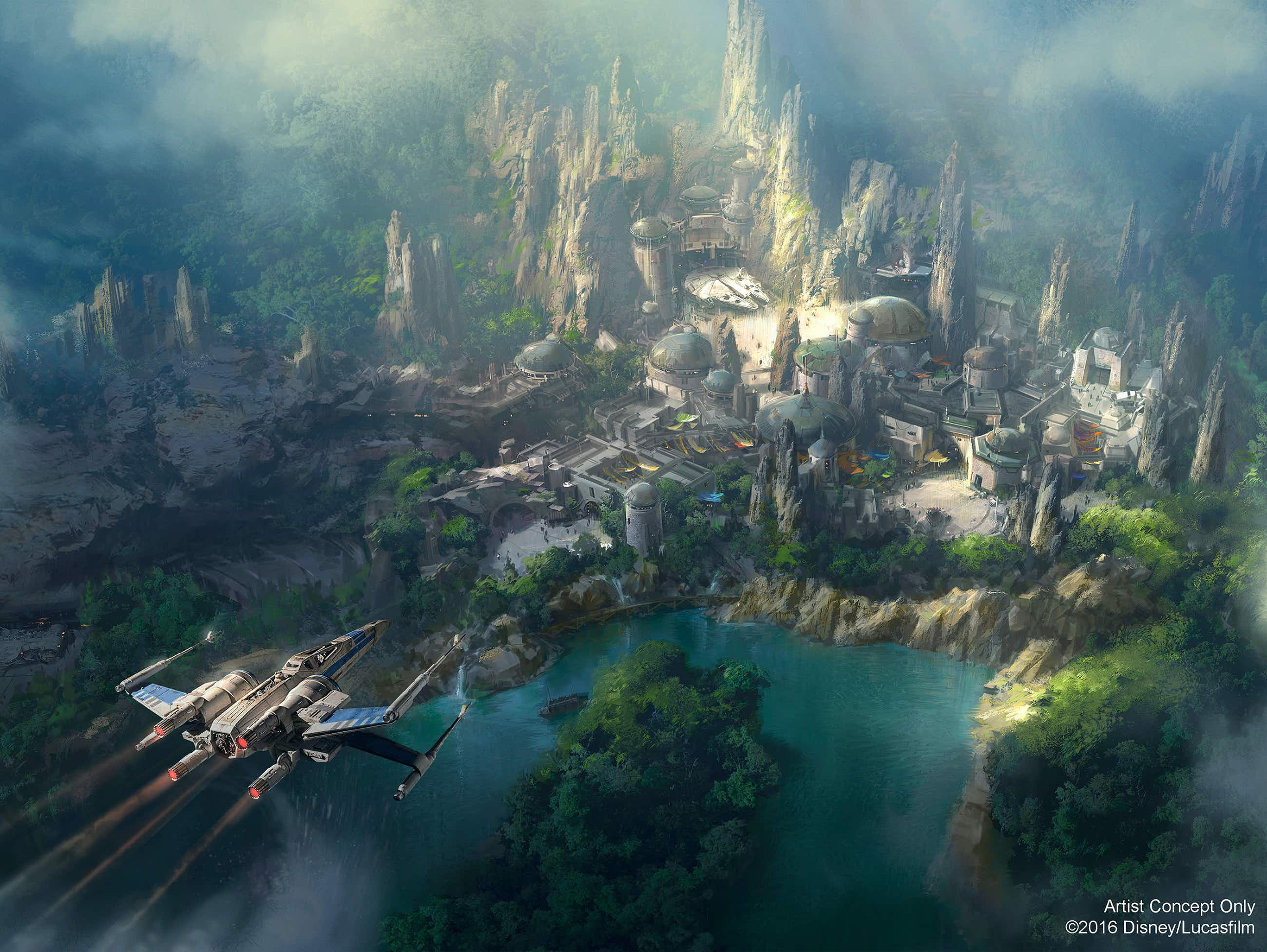 Disney's Star Wars Land is going to be fully interactive
