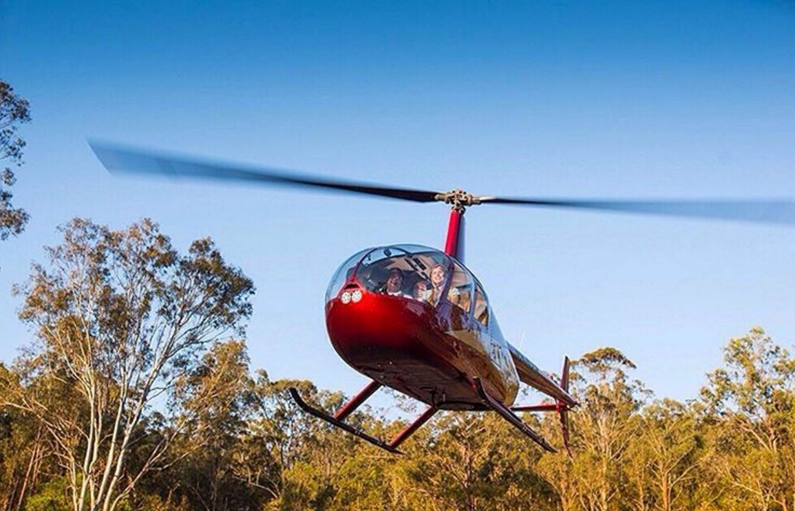 You'll be flying high on this Australian pub crawl, which takes you from bar to bar by helicopter