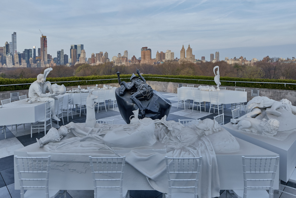 See an incredible rooftop exhibition of 3-D-printed sculptures at NYC's Met