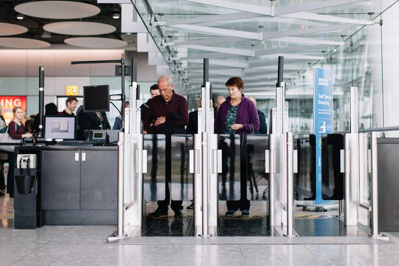 Now you can breeze through boarding as BA has introduced three biometric facial recognition boarding gates
