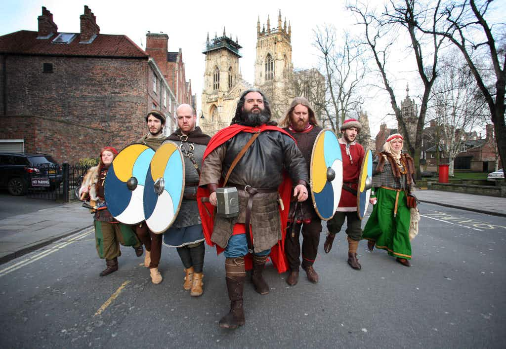 It pongs a bit, but that's part of the attraction as England's popular Viking life centre reopens