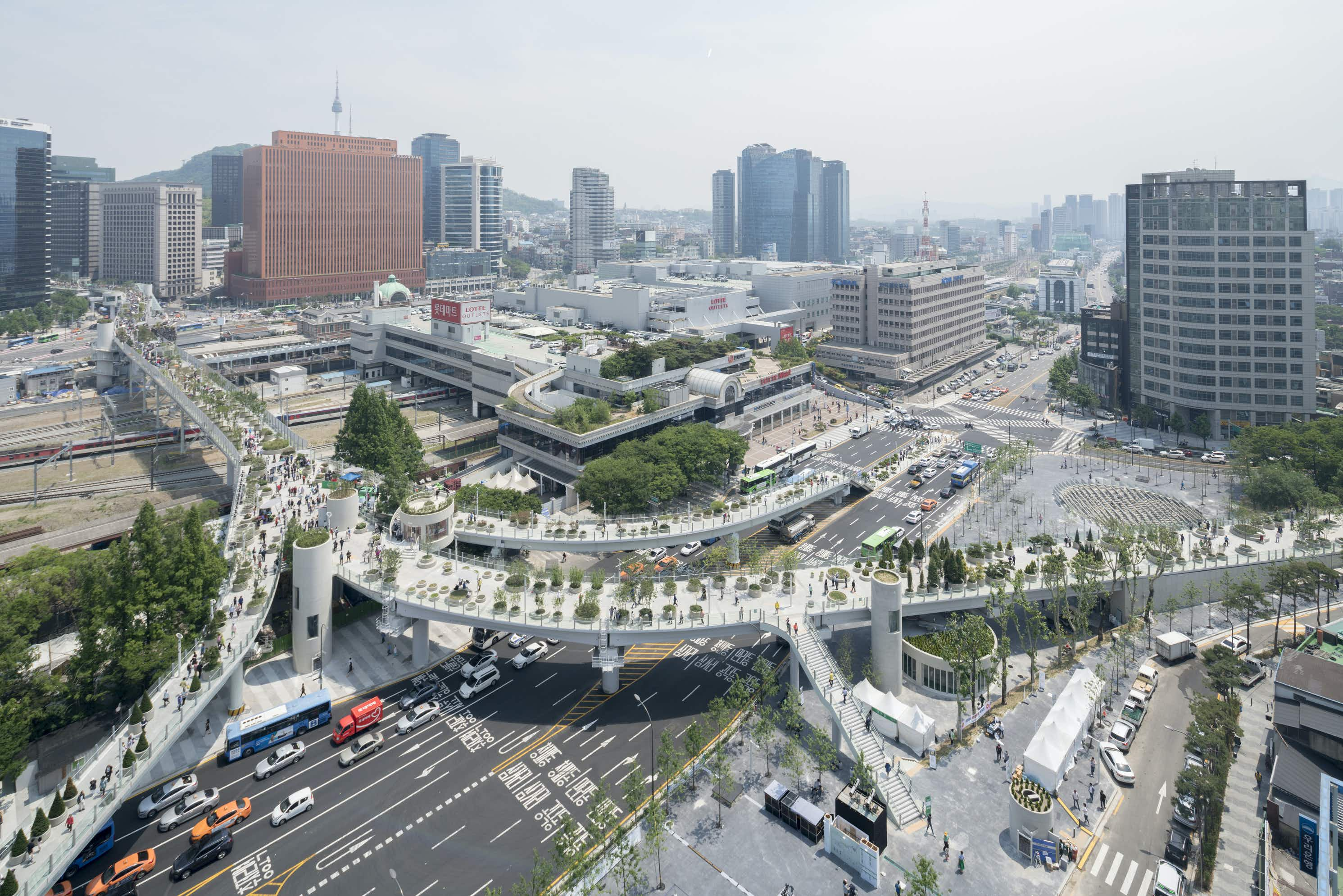 South Korea has transformed a 1970s motorway into Seoul's answer to NYC's High Line