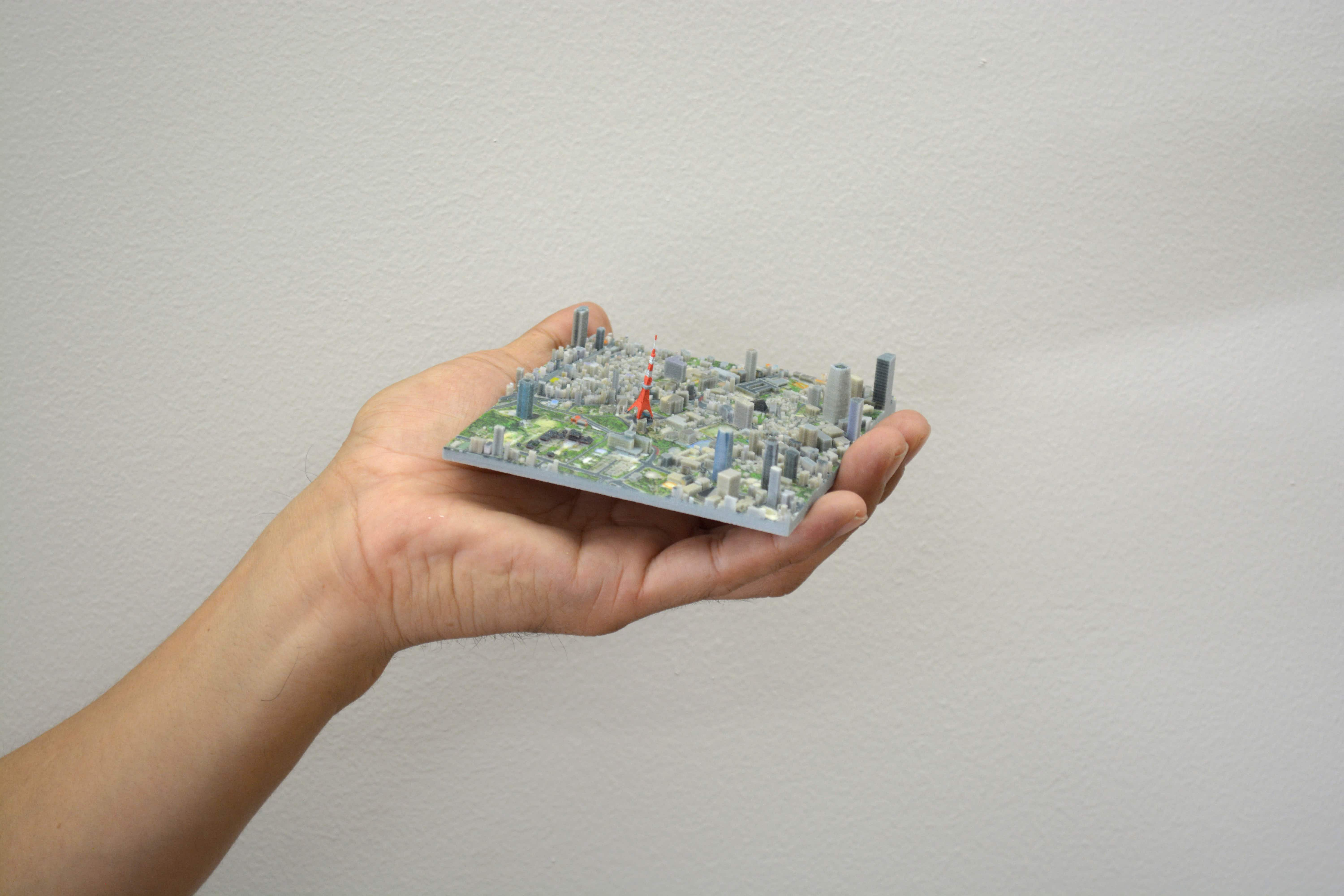 This company is creating incredible 3D printed maps of Tokyo city