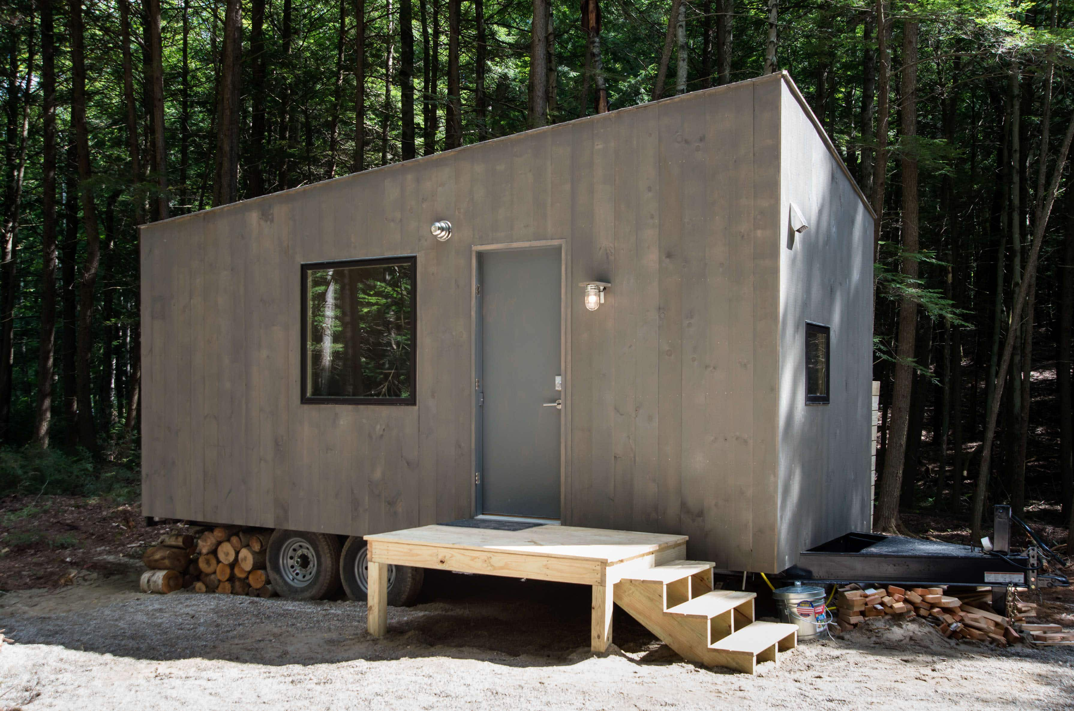 Disconnect and recharge with a Tiny House escape at an NYC beach this summer