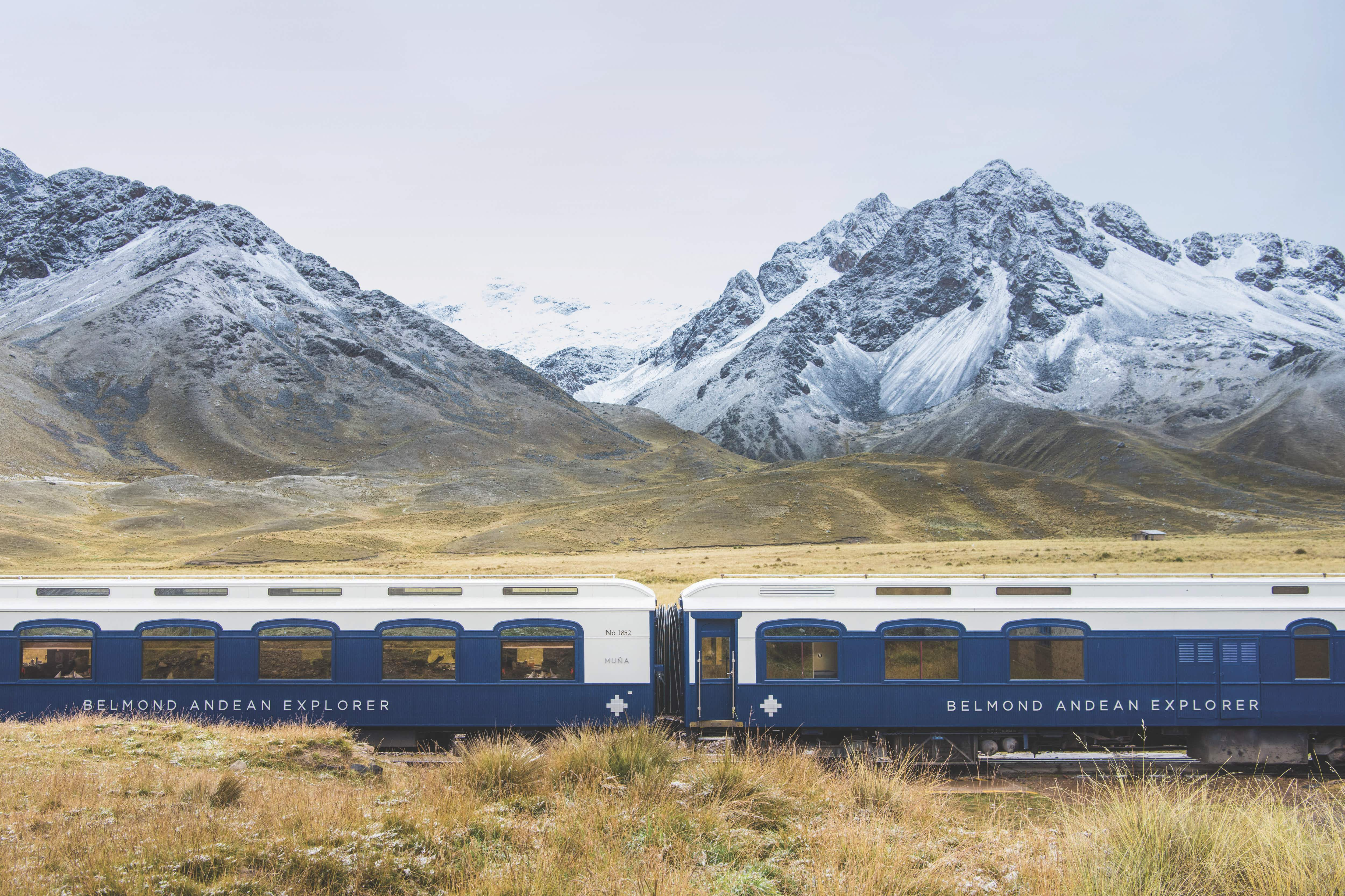 Peru's new luxury sleeper train is taking travellers on journeys through the Andes
