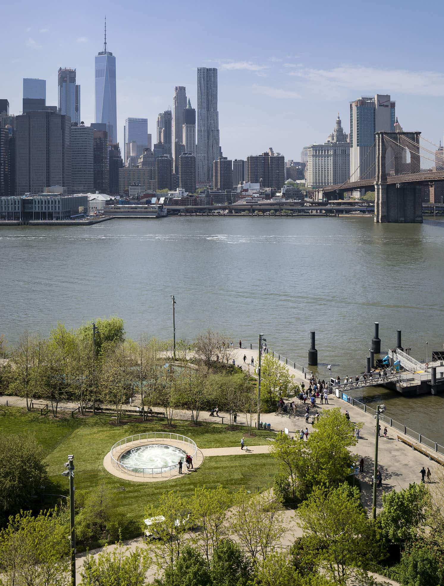 Anish Kapoor wows New Yorkers with his 'Descension' whirlpool installation
