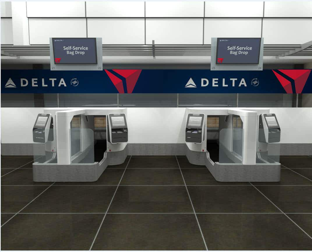 Delta is testing facial recognition technology to create a speedy self-service baggage-drop