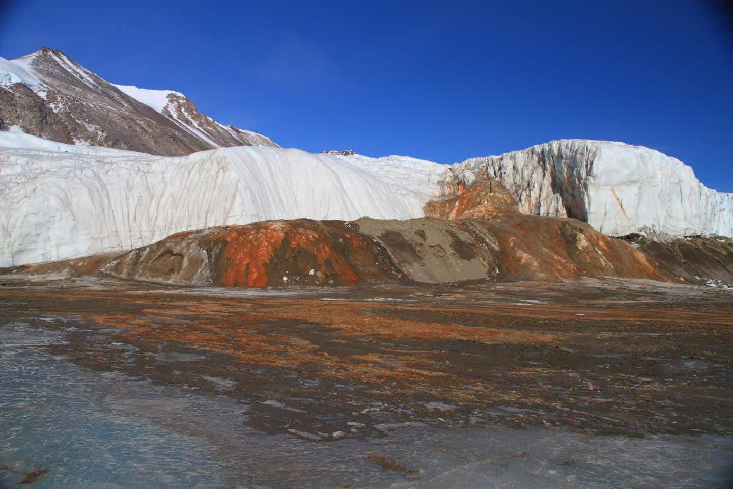 Scientists have solved the mystery of Blood Falls in Antarctica