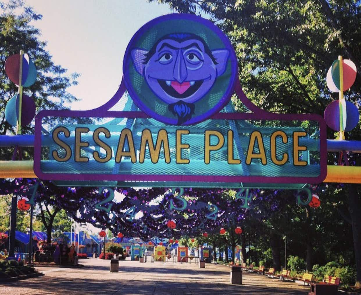 We're counting down the days until the new Sesame Place theme park opens in the US