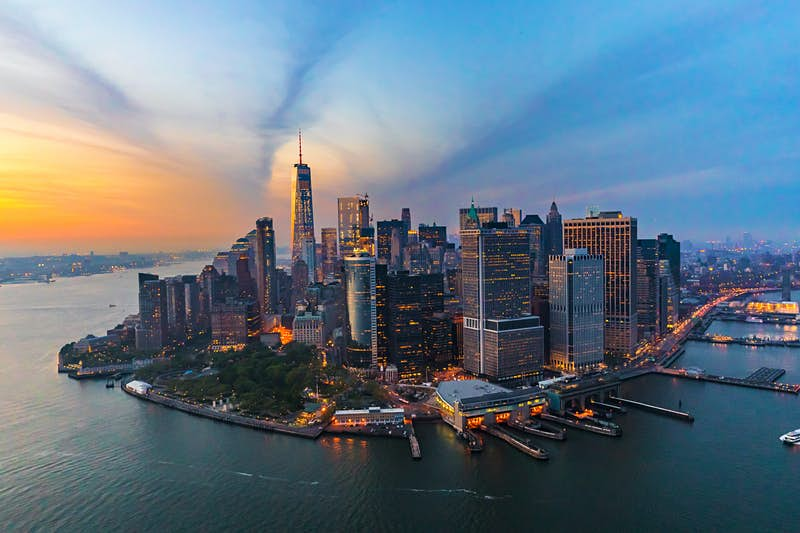 See New York's skyline for under $3 on board a new public