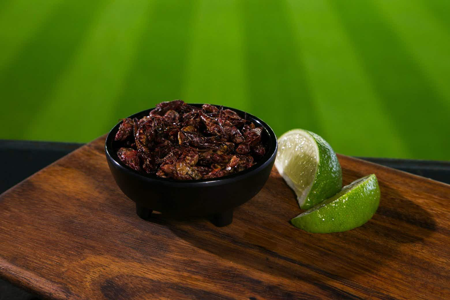 Why spicy grasshoppers have overtaken hotdog sales at one baseball stadium