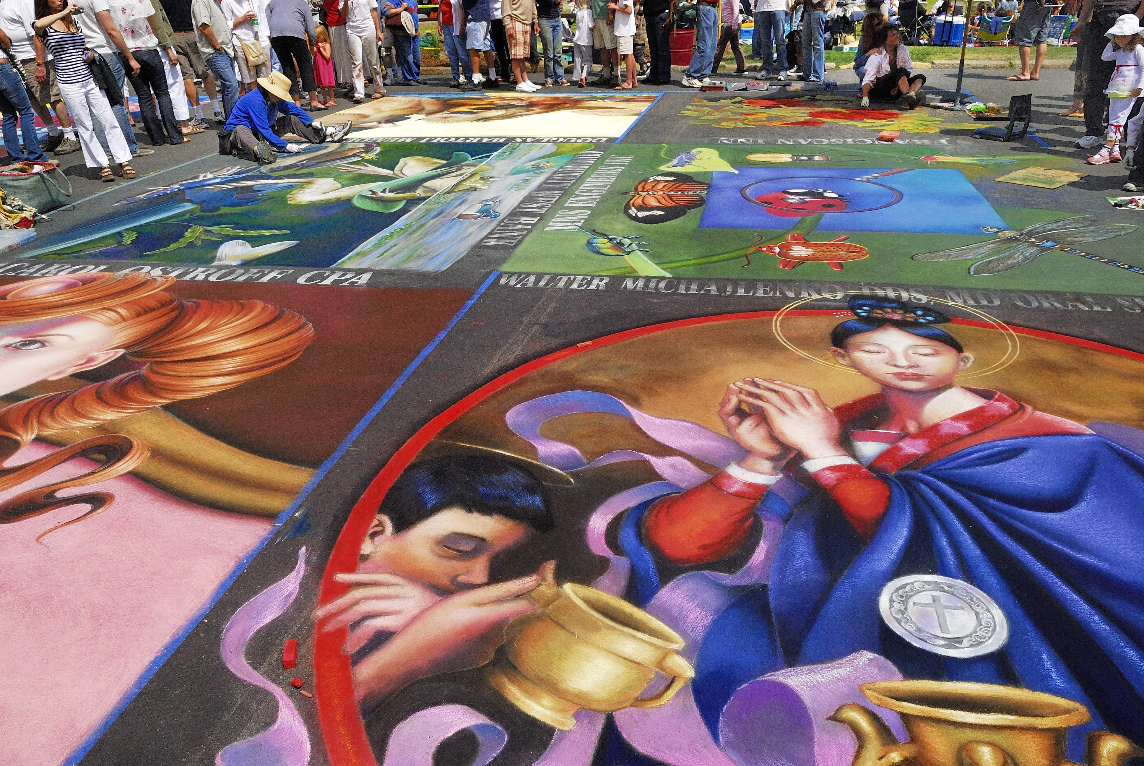 See the spectacular, fleeting street paintings of Santa Barbara before they disappear