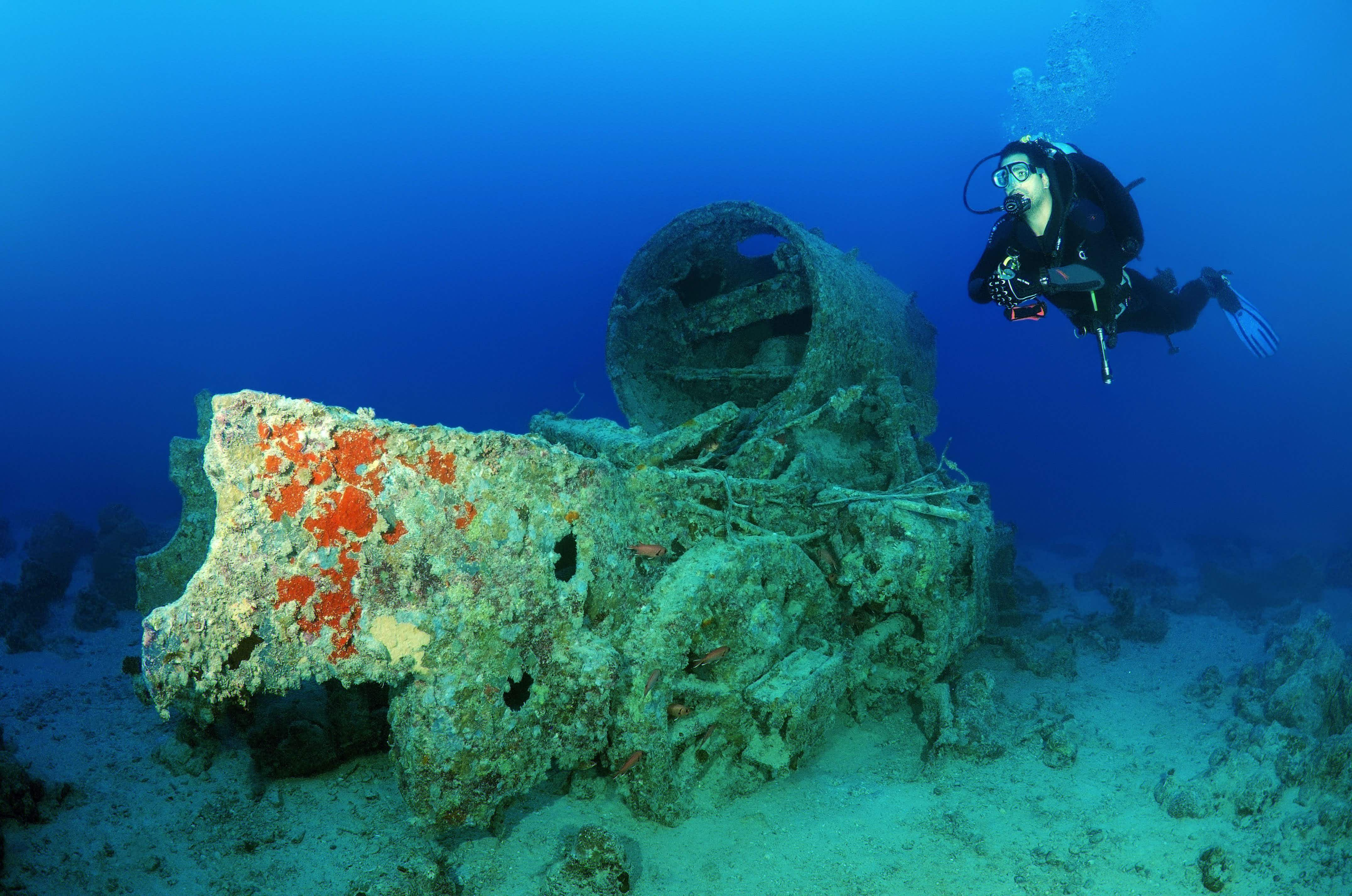 Is this WWII wreck the world's most eye-opening underwater dive site?