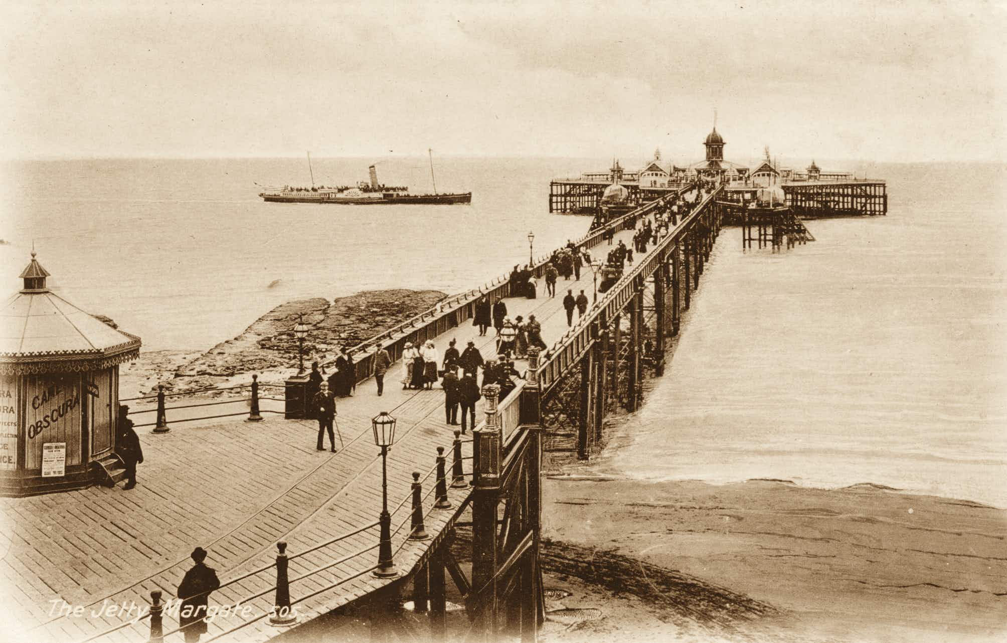 Relive the golden age of the British seaside resort with this stunning postcard collection