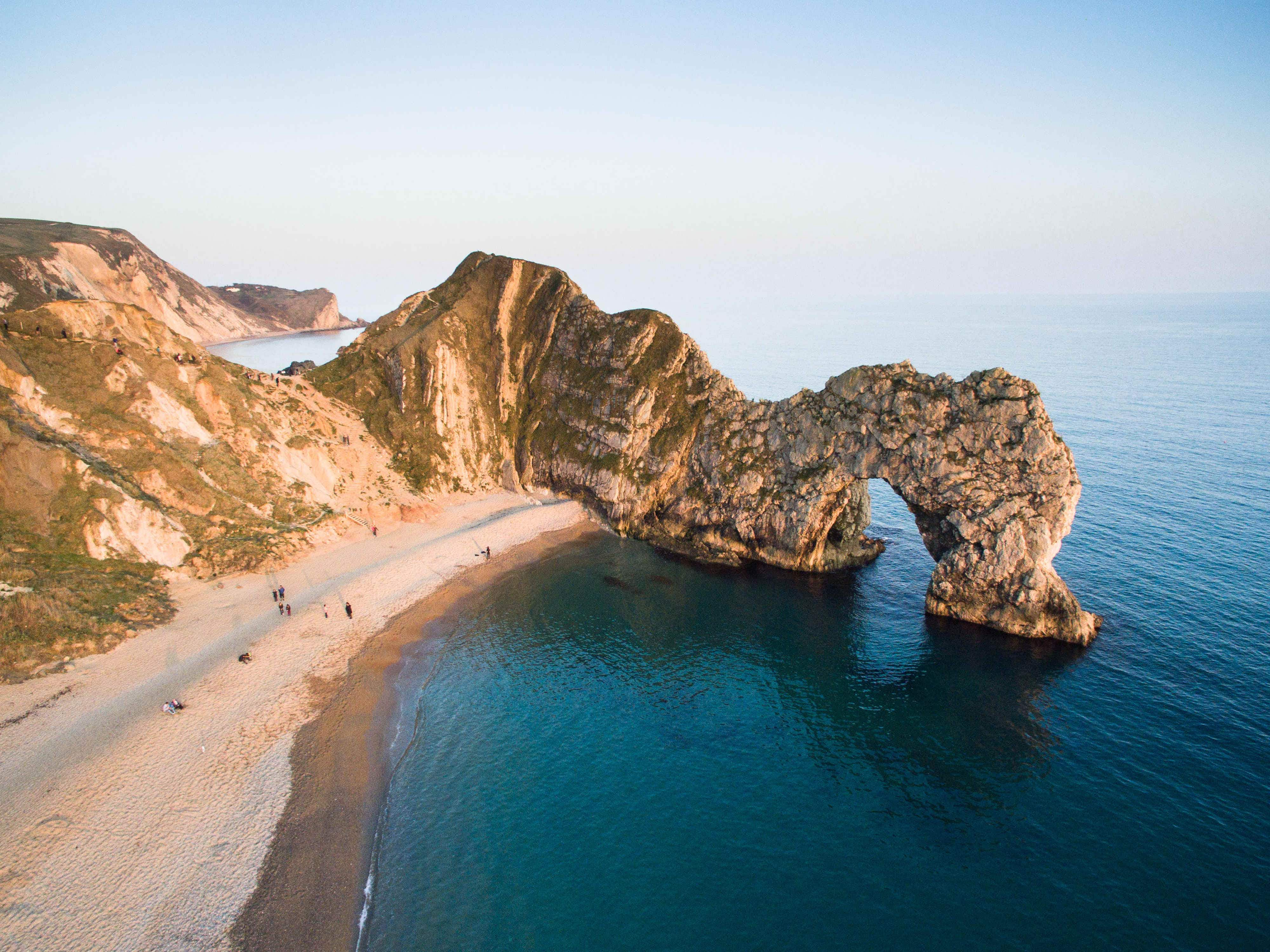 These drone images will make you fall in love with Dorset's Jurassic Coast