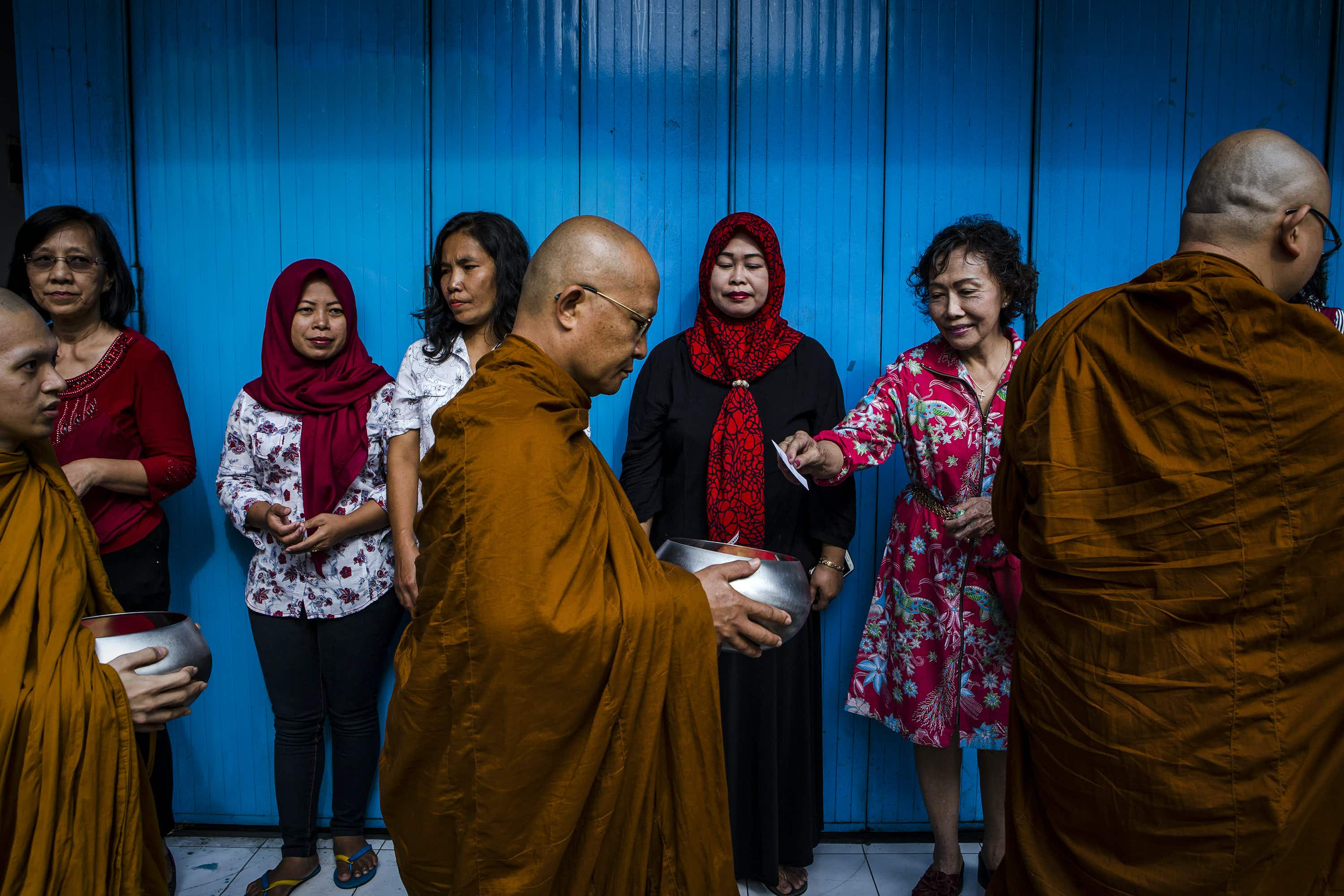 See people around the world celebrate the life of Buddha