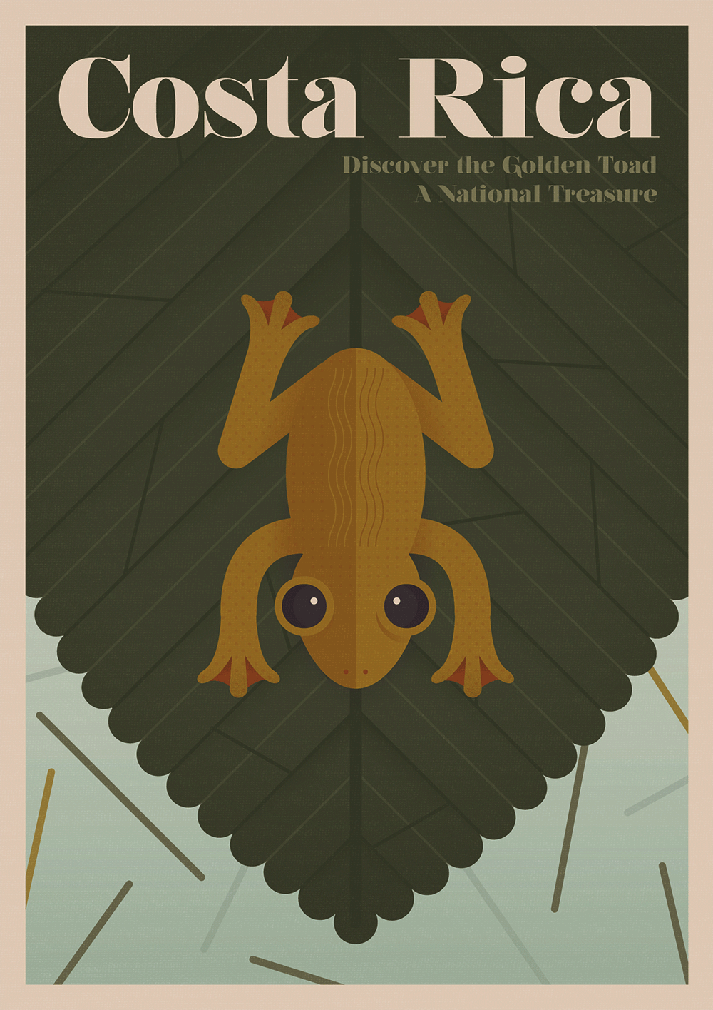 Discover the extinct animals lost to particular countries in these vintage-style posters