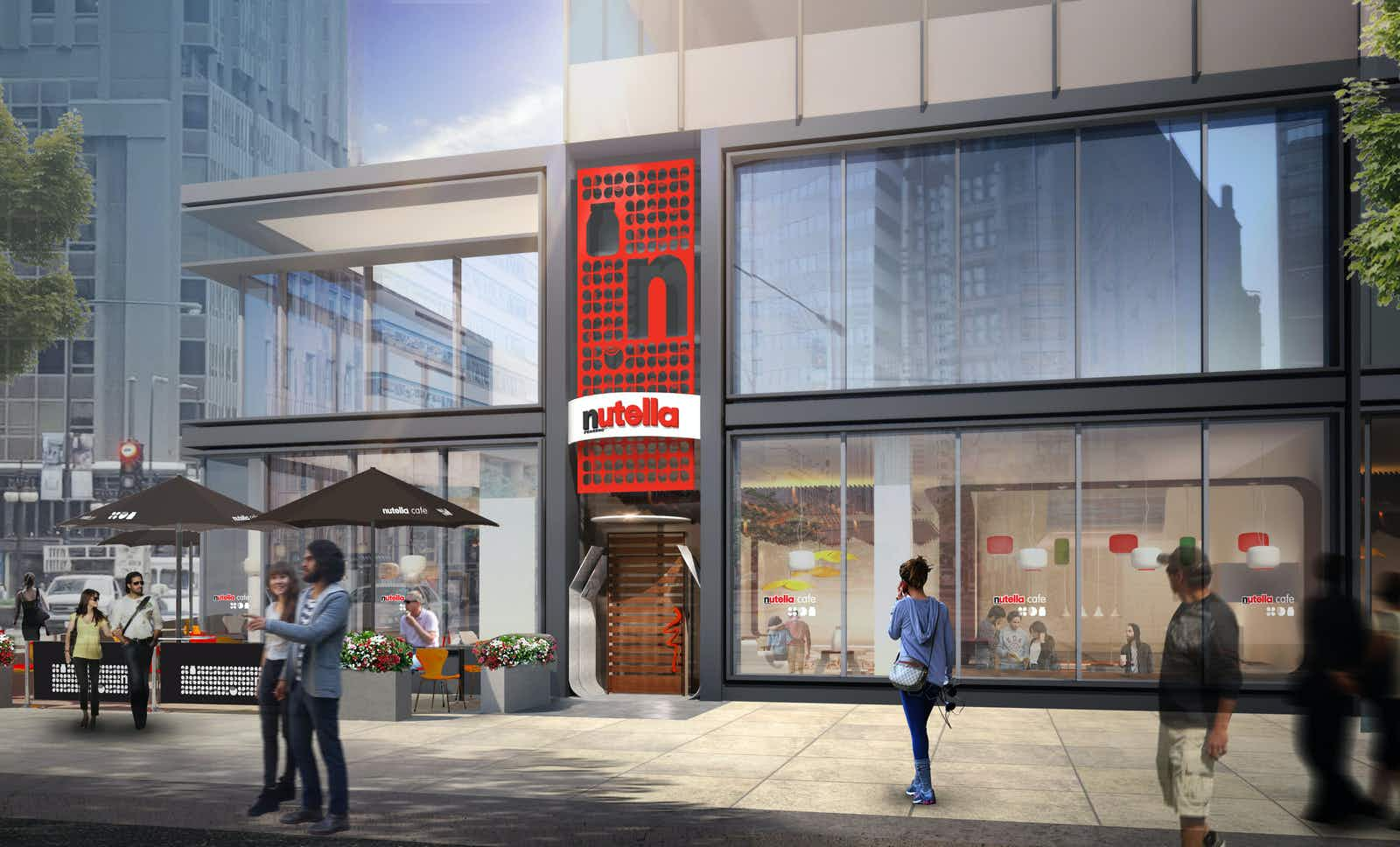Get excited because the first official Nutella Café is going to open this month in Chicago