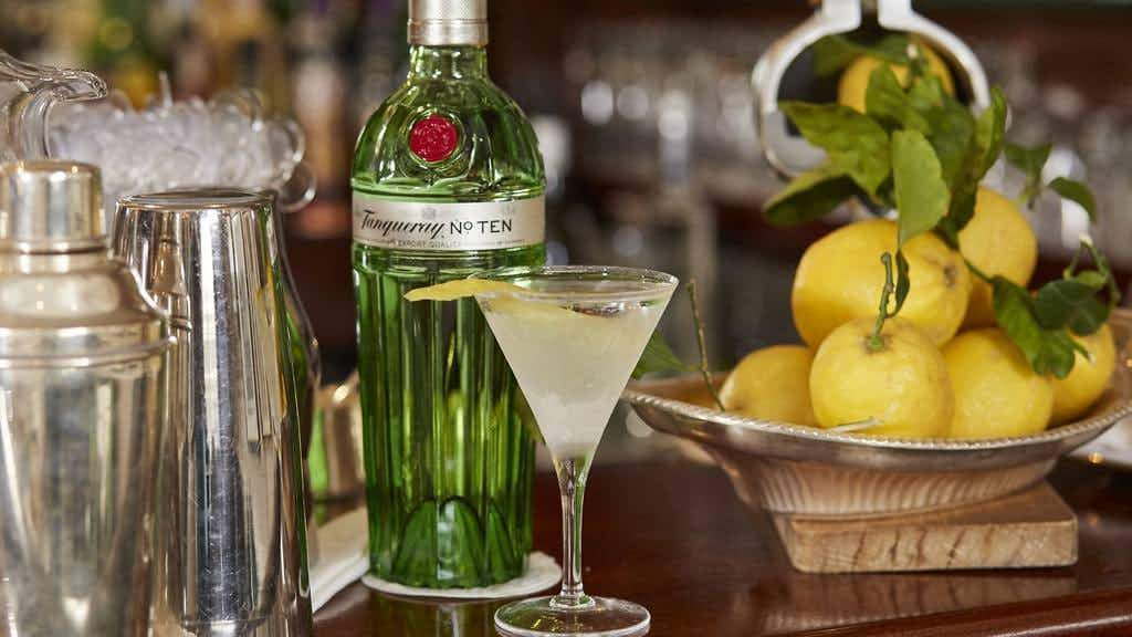 All aboard the vintage gin train but hurry; it leaves London tomorrow